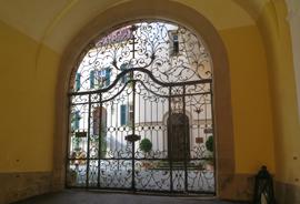 Tor Schloss Baldern
