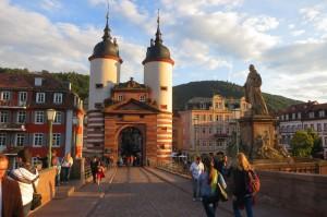 Alte Brücke in Heidelberg