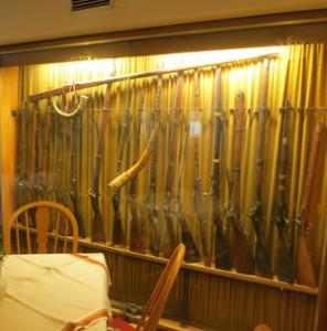 Waffen im Wirtshaus