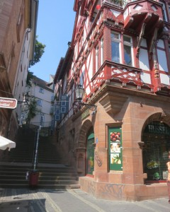Heimelige Gassen in Marburg