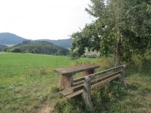 Ausblick bei Marburg