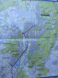 35 km bis Marburg am ersten Tag?